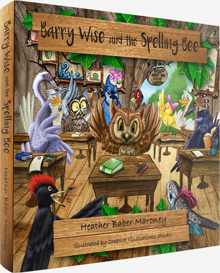 Barry Wise and the Spelling Bee, book cover