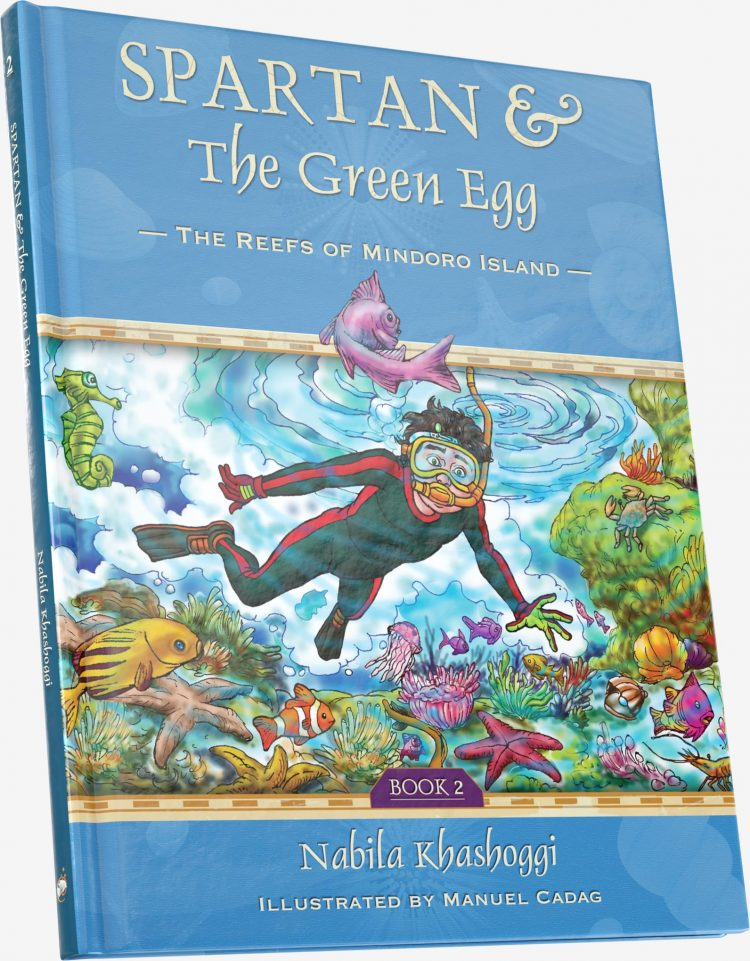Spartan and the Green Egg: The Reefs of Mindoro Island, Book 2, book cover