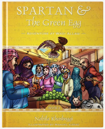 Spartan and the Green Egg, Book 3: Adventure at Wadi Allaqi, book cover
