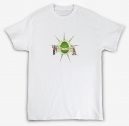 spartan and the green egg matching game t-shirt