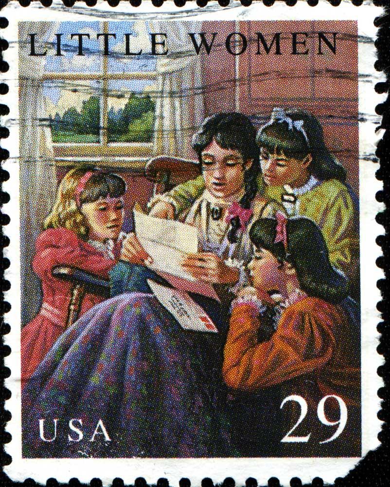 Little Women Stamp