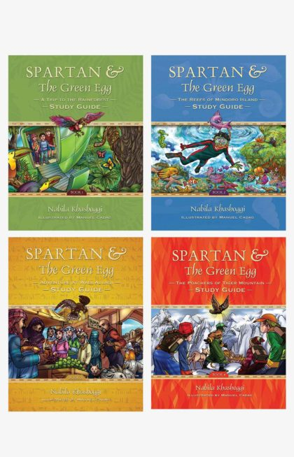 Spartan and the Green Egg 1-4 Study Guide